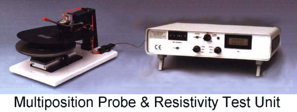 Jandel four point probes